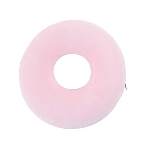 Savlot Seat Cushion, Donut Seat Pad Ring Memory Foam Cushion Chair Pillow Memory Seat Mat Haemorrhoids Pregnancy Support Pillow