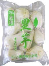 芋煮用 国産 生の里芋(洗い&むき)500g