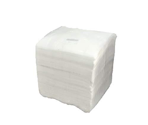 Brod Vliestücher weiß, Maschinenputztuch, 550 Tücher, 38 x 40 cm, 10 kg Sack