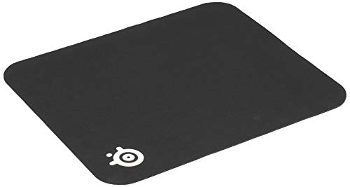 SteelSeries QcK Mini Cloth Gaming Mouse Pad - Micro-Woven Surface - Optimized For Gaming Sensors - Size S (250x210mm), Black