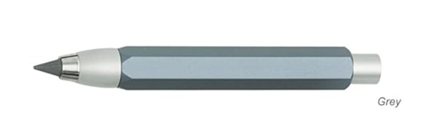 Worther Metal Pencil with Sharpener - Grey