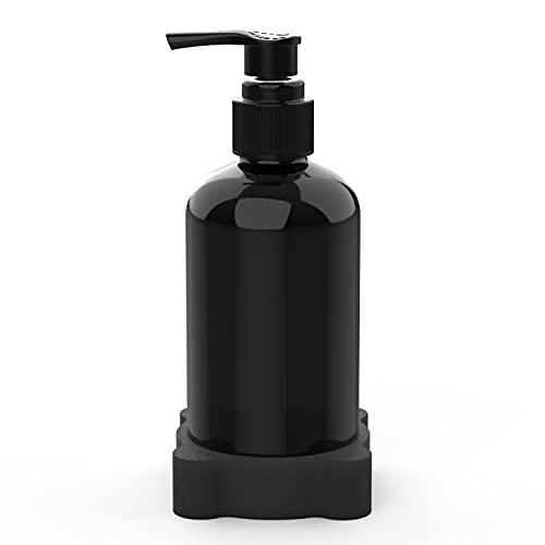 Dispensador de desinfectante portátil de manos para portavasos de coche dispensador de bomba vacía (1 paquete)