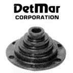 Detmar Marineblau Motorwell Boots 3in. 3in. Covers Hole 3in. by Detmar