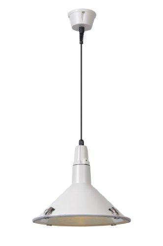 Lucide TONGA - Suspension Extérieur - Ø 31 cm - IP44 - Blanc