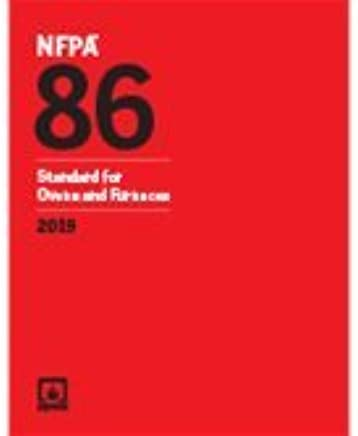 NFPA 86 Standard For Ovens And Furnaces 2019 Ed NFPA