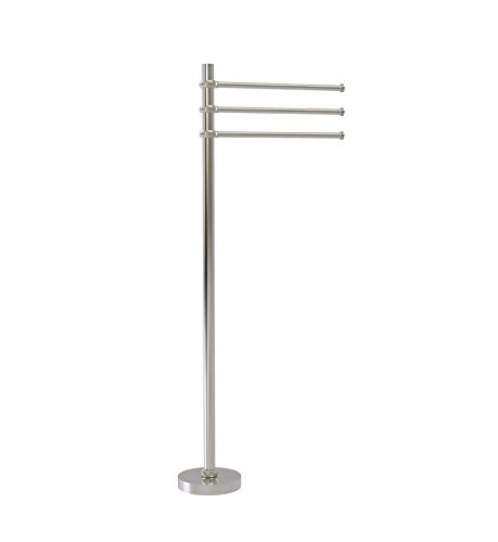 Towel Stand with 3 Pivoting 12u0022 Arms (Build to Order)