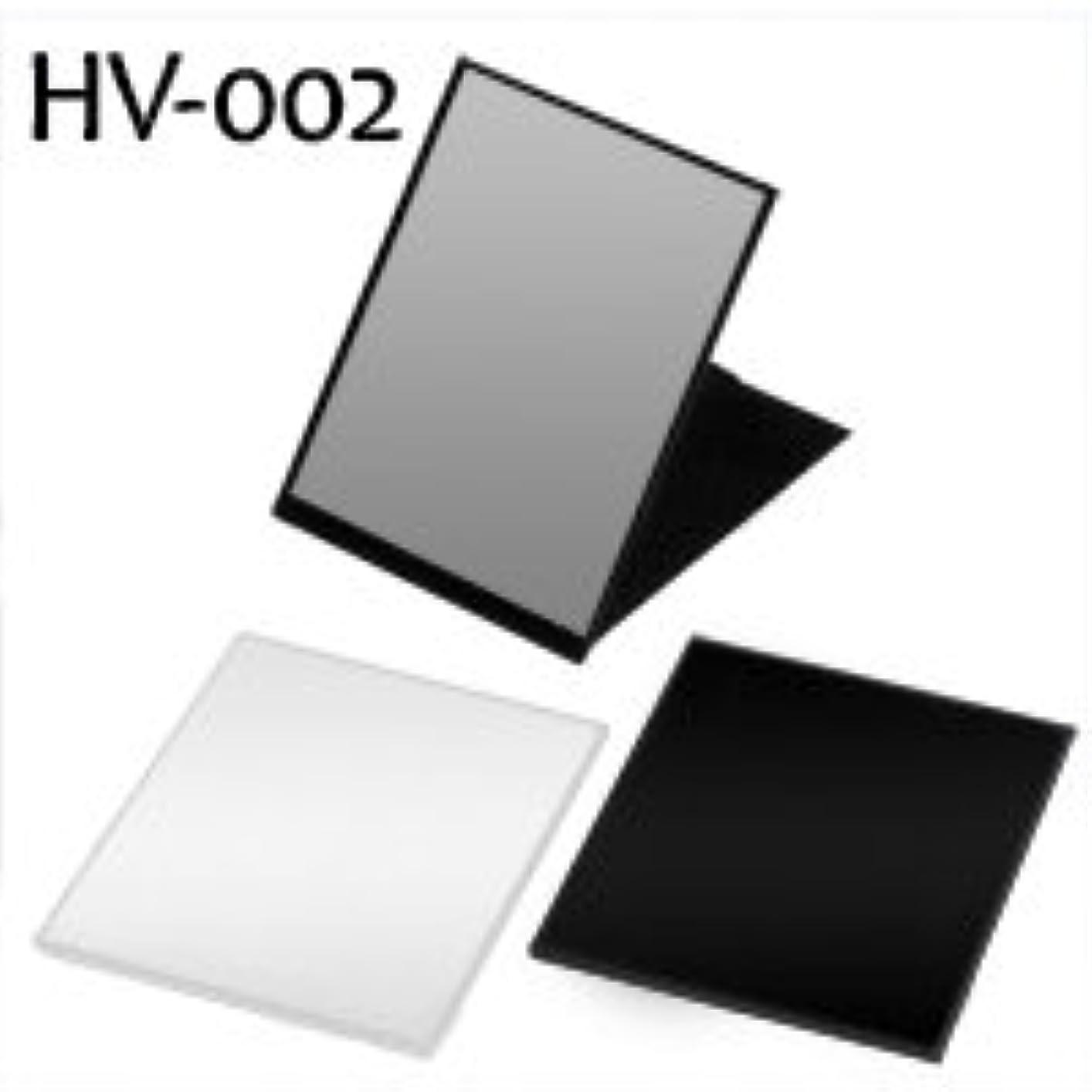 無駄に砂のゴールドハイパービュースリム&ライトコンパクトミラー(L) HV-002 ブラック