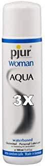 Pjur Woman Aqua 100ml, 3er Packung