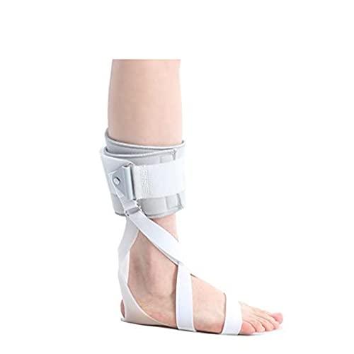 Zyxdk AFO Pie Caído Entablillar Tobilleras Soporte de Órtesis para Accidente Cerebrovascular, Lesión del Tendón de Aquiles, Mantener el Pie en Ángulo Recto Recto (Color : Right, Size : L)