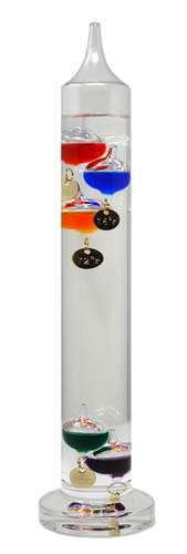 Gift Essentials Galileo Thermometer 13 inches (33 cm)