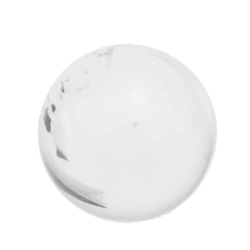 P Prettyia Bola de Vidrio Transparente Esfera de Meditación Globo Cristal para...