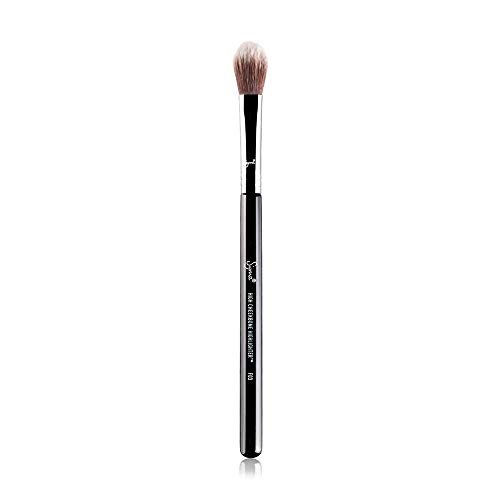Sigma Beauty Professional F03 High Cheekbone Highlighter and Contouring Synthetic Face Makeup Brush with Sigmax fibers for Buffing and Highlighting Nose, Chin and Cheekbones