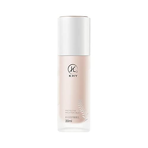 Xzbling Primer de la Cara del Maquillaje, Base de prebase de Maquillaje Profesional Corrector Lasting Brighten Isolation Cream Base Base, niñas