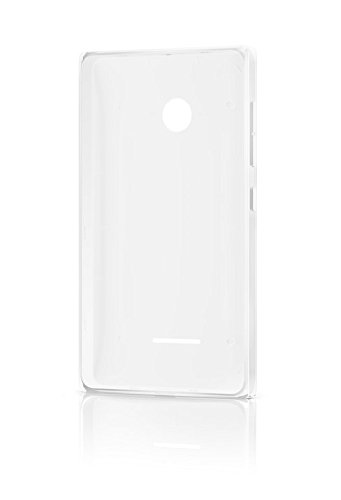 Microsoft Lumia Clip-On Shell Hülle Case Cover für Microsoft Lumia 435 - Weiß