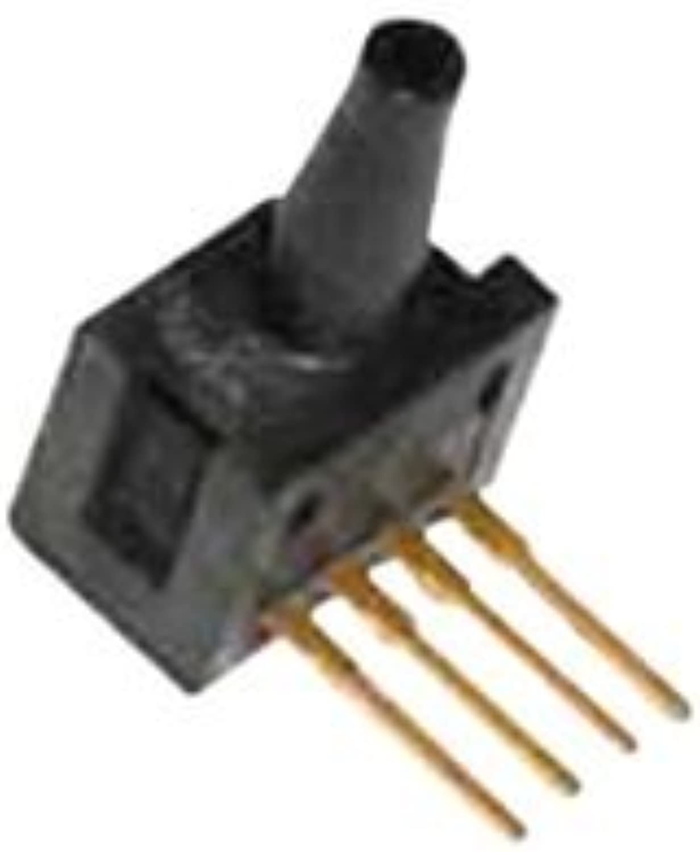 HONEYWELL S&C 26PCCFB6G Pressure Sensor, Miniature, Silicon, 15 psi, Gauge, Barbed, Voltage, 10 V