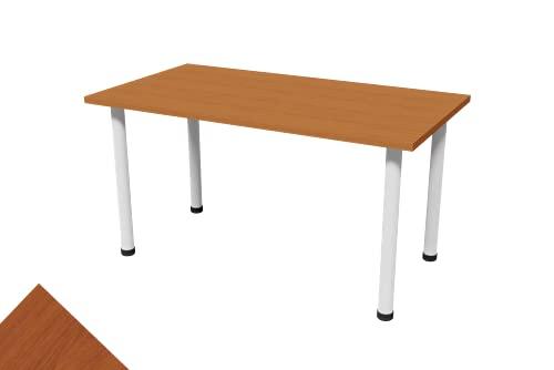 TUTROCITO. Mesa Oficina, Mesa De Escritorio, Escritorio l, Mesa Cerezo, Mesa para Ordenador, Mesas de Escritorio, Escritorio Juvenil, Escritorio Forma l