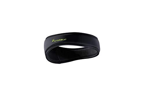 Storelli ExoShield Head Guard Slim | Sports Headband | Protective Soccer Headgear | Black | Size 1