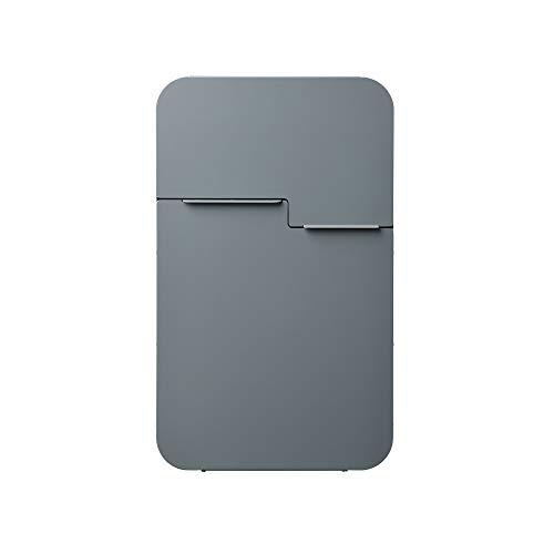 MEFA Briefkasten Retro 620 (Farbe basaltgrau, Postkasten mit Sicherheitsschloss, Größe 539x322x132 mm) 620500M