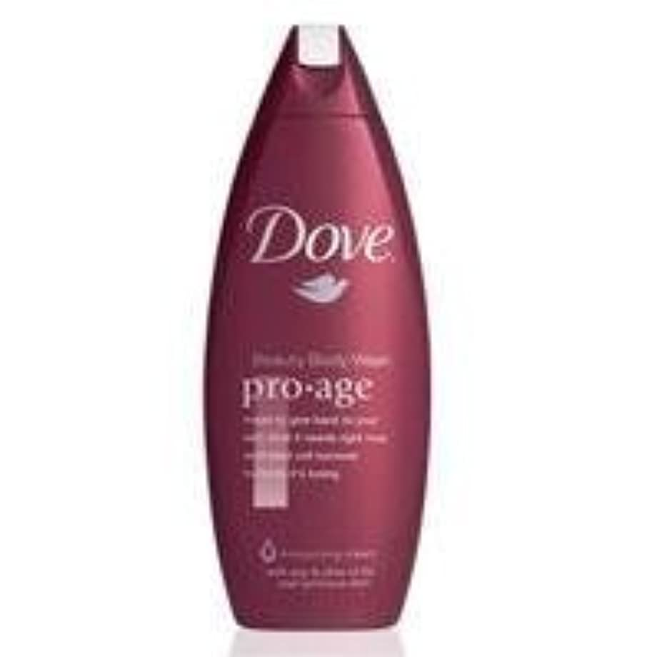 画面禁輸マージDove Pro-Age Beauty Care Body Wash by Dove [並行輸入品]