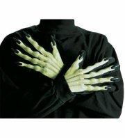 Panelize Krallenhände Hexenhandschuhe Hexer 3D Alien Monster fluoreszierend