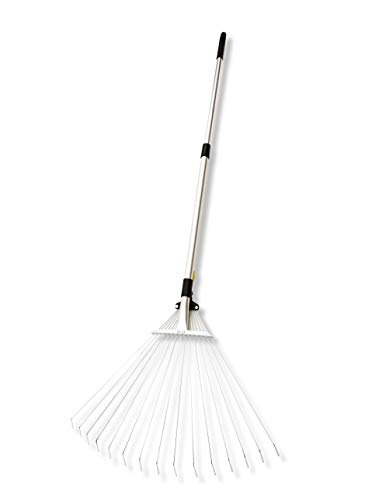 Spear & Jackson Kew Gardens Collection Expanding Lawn Rake, Silver