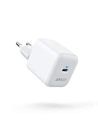 Anker PowerPort III Cargador USB-C, 20 W, PIQ 3.0, Compatible con iPhone 12/12 mini/12 Pro/12 Pro Max/11, Galaxy, Pixel 4/3, iPad Pro, MagSafe, y más, Cable de Carga no Incluido