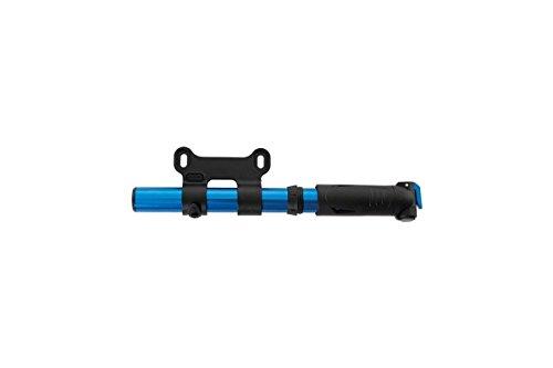 CONTEC Minipumpe 'Air Support Pocket' SB-verpackt, 7 bar / 100 psi, für alle Ventile, Aluminium Gehäuse, kompaktes FlipValve Pumpenkopf-System, einfachste Bedienung per Hebel am Kopf, der FlipValve Head ist mit einem flexiblen Schlauch ve