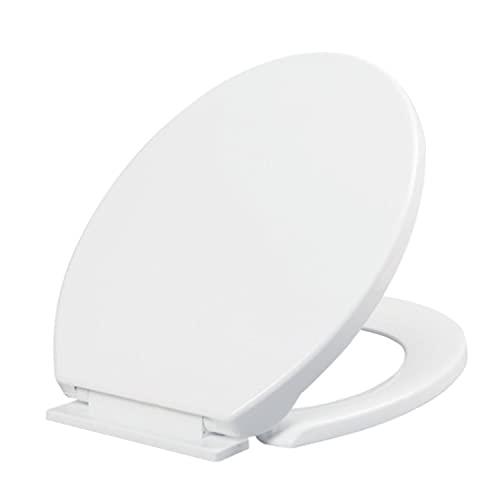 Sheye Tapa de WC, Tapa WC Compatible, Tapa de inodoro con cierre suave y lenta Asiento para Inodoro...