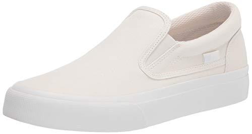 DC womens Trase Slip Skate Shoe, Tan, 5.5 US