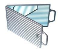 Hair Tools - Double miroir se pliant, argent - HT60580