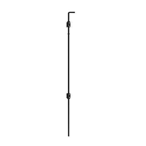 """Boerboel Gate Solutions 73025503 Black 48"""" Heavy Duty Drop Rod SS"""