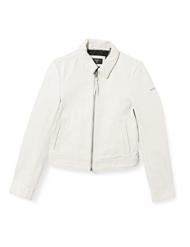 Superdry Leather Jacket Chaqueta de piel de Down Town para Mujer