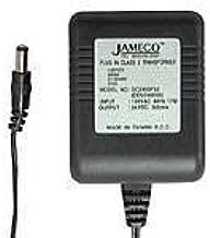 Jameco Reliapro ADU120150E1012 AC to AC Wall Adapter Transformer 12V @ 1500 mA Straight 2.1 mm Female Plug, Black