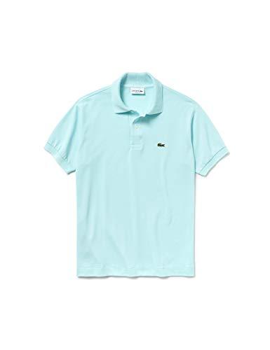Lacoste Herren L1212 Poloshirt, Blau (Aquarium 07h F8r), XL