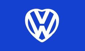 UB Fahne/Flagge VW Love Herz 90 cm x 150 cm Neuware!!!