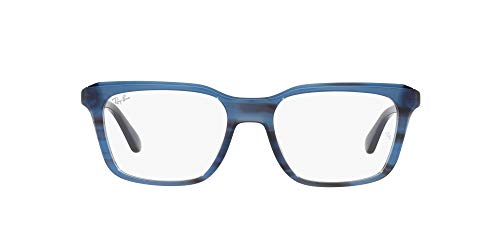 Ray-Ban 0RX5391 Gafas, STRIPED BLUE, 51 Unisex Adulto