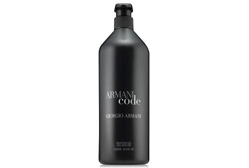 ArmaniCode Shower Gel 33.8 Oz/One Liter Size