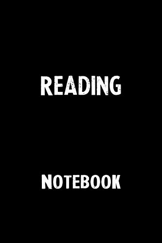 Reading Notebook: Blank Lined Notebook Journal Gift Idea
