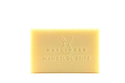 Haslinger Mandelöl Seife mit Mandelöl besonders pflegend bei trockener und sensibler Haut 100 g