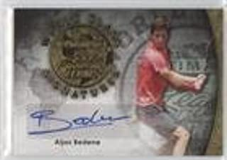Aljaz Bedene #6/10 (Trading Card) 2015 Leaf Ultimate Tennis - World Class Signatures - Gold Etched Foil #SA-AB1