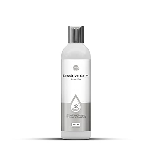 KÖHAIR Sensitive Calm Shampoo 200 ml, mildes und pH-neutrales Pflegeshampoo für empfindliche Kopfhaut, von KÖ-HAIR