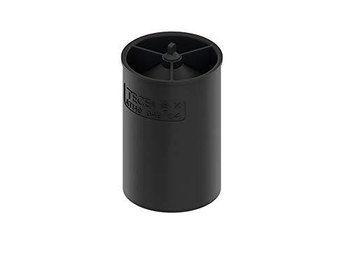 TECE 660018 drainline Geruchsverschluss (Membran für Abläufe; Höhe: 7,4 cm) schwarz