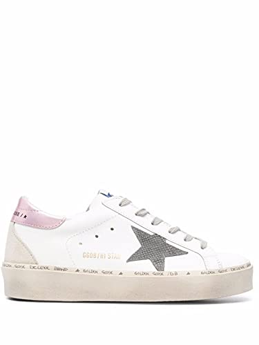 Golden Goose Luxury Fashion Donna GWF00119F00194110746 Bianco Pelle Sneakers | Stagione Permanente
