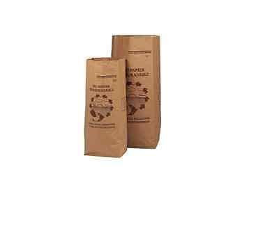 10 Sacs 30 Litres SOLIDE 2 FEUILLES déchets verts et organiques en papier kraft biodégradable compatible compost, sac pour déchets verts sac jardin ramassage herbe, végétal compostable tous déchets