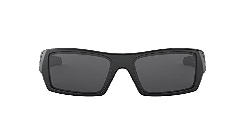 Oakley Gascan - Gafas, color Negro (Black Matte/ Grey), Talla única