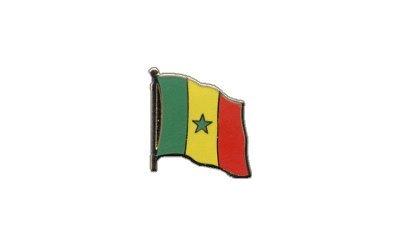 Flaggen-Pin/Anstecker Senegal vergoldet