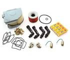 Deluxe Tune Up Kit - Plugs Caps Oil Air Filter Carb Kits Points - Compatible with Honda CB350F