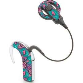 Nucleus 5 cochleair implantaat Stickers Voetbal Vlinder
