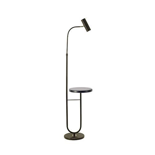 Lámpara de pie Lámpara de pie LED Diseñador Moderno Luz de Suelo de Hierro Forjado Creativo Lámparas de pie de Base de mármol Regulables para Dormitorio Lámpara de pie para Sala de Estar