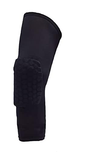Kneepad Leg Sport Guard Basketball Honeycomb Sport Kneepad Anticolisión Leg Ride Guard Kneepad S Verde